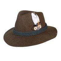Tiroler hoed wolvilt luxe groen model Fabian