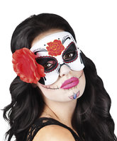 Day of the Dead oogmasker La Bianca