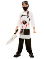 Dr. Killer: shirt, schort, hoofdband en mondkapje