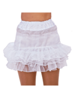 Petticoat organza wit 4 laags