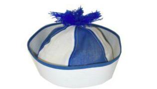 Navy Cap populair blauw-wit
