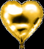 Folie hartballon goud 46 x 49 cm