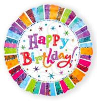 Folieballon Radiant 'Happy Birtday'