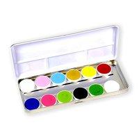 Superstar waterschmink palet botanical 12 kleuren