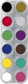 Grimas Water Make-up Pure 12 kleuren A 2,5 ml