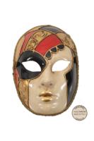 Venetiaans dames masker Volto Gesso assorti kleurcombinaties