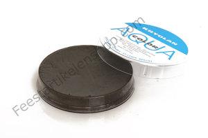 Kryolan aquacolor schmink bruin zwart 102  55 ml