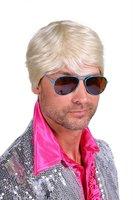 Herenpruik luxe Ken blond