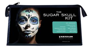 Kryolan Sugar skull kit 13 delig incl uitgebreide omschrijving