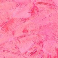 Veertjes baby roze