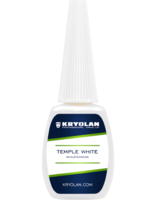 Kryolan slapen wit / Temple white 12 ml