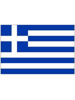 Tafelvlag moiree zijde 10 x 15 cm Griekenland