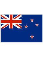 Tafelvlag moiree zijde 10 x 15 cm Nieuw Zeeland