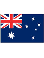 Tafelvlag moiree zijde 10 x 15 cm Australië