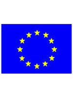Tafelvlag moiree zijde 10 x 15 cm Europa
