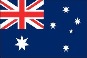 Decoratievlag Australië 90 x 150 cm