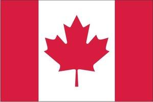 Decoratievlag Canada 90 x 150 cm