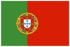 Decoratievlag Portugal 90 x 150 cm
