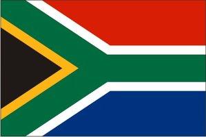 Decoratievlag Zuid Afrika 90 x 150 cm