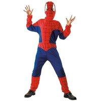 Spinnenheld 2 delig: jumpsuit en hoofdkap