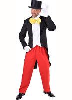 Mickey Mouse 2-delig: slipjas met vest en broek