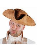 Driespits bruin luxe vilt hoed