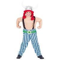 Obelix 2 delig: jumpsuit met helm