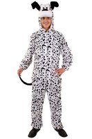 Pluche Dalmatiër kostuum met muts