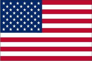 Vlag polyester  70 x 100  cm Amerika