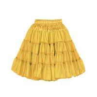 Luxe petticoat 2 laags geel