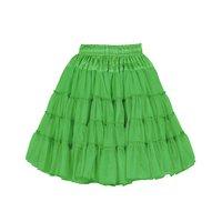 Luxe petticoat 2 laags groen