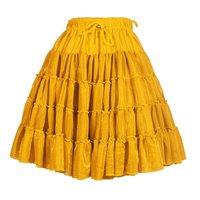 Luxe petticoat 2 laags metallic goud