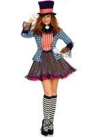 Leg Avenue Mad Hatter jurk OP=OP