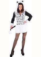 Dalmatiër jurk met capuchon