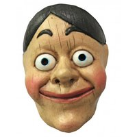 Gezichtsmasker rubber Wood Puppet