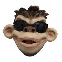 Gezichtsmasker rubber Coole aap