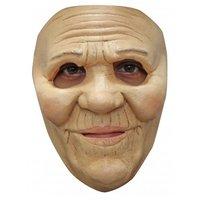 Gezichtsmasker rubber Mrs. Smith, oude dame