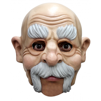 Ghoulish rubber kinloos masker Uncle Buck Abraham