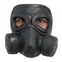 Gezichtsmasker rubber Double Gas Mask