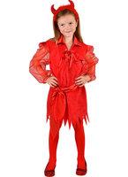 Duivel meisje, rode jurk