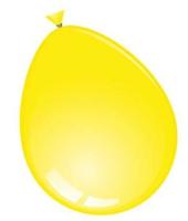 Ballonnen rond 10 stuks geel  30 cm