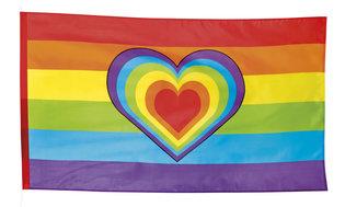Vlag Rainbow 90 x 150 cm