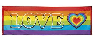 Banner Rainbow Love 74 x 220 cm