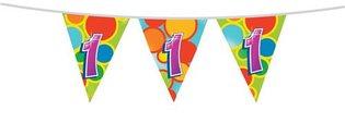 Vlaggenlijn '1 jaar' 10 meter