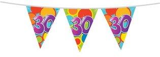Vlaggenlijn '30 jaar' 10 meter