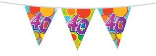 Vlaggenlijn '40 jaar' 10 meter