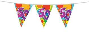 Vlaggenlijn '50 jaar' 10 meter