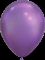 Chrome ballonnen paars 27,5 cm