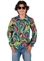 Hippie blouse Circle green