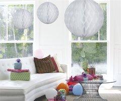 Honeycomb Ball wit 50 cm